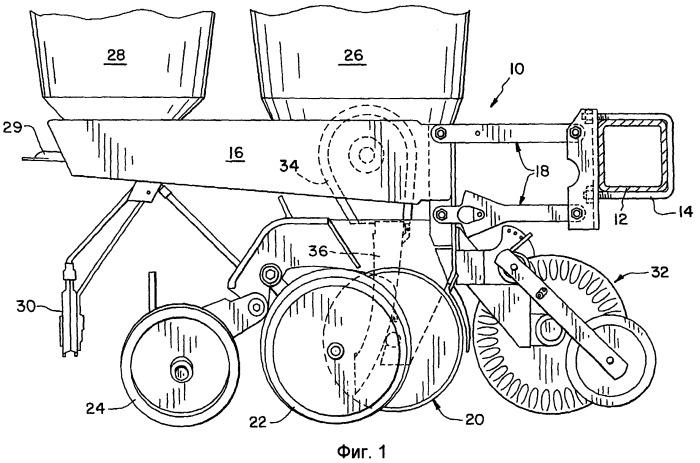 Семяпровод для сельскохозяйственной посевной машины