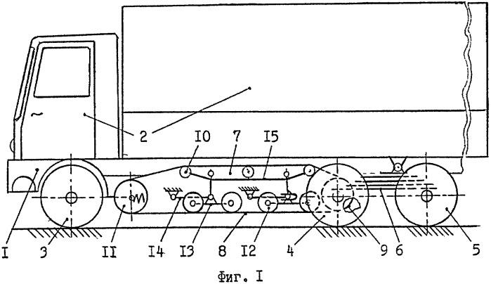 Колесно-гусеничное транспортное средство