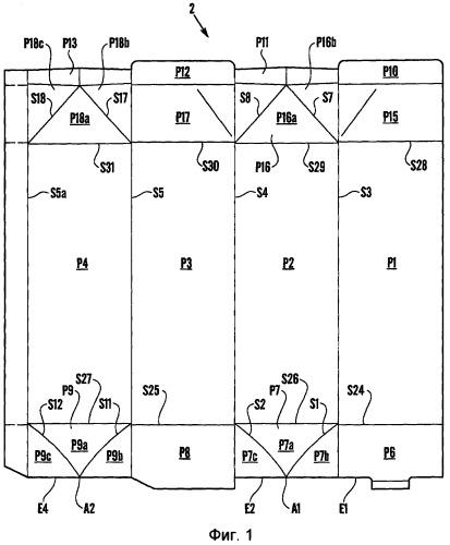 Контейнер, заготовка, оправка и способ формирования контейнера
