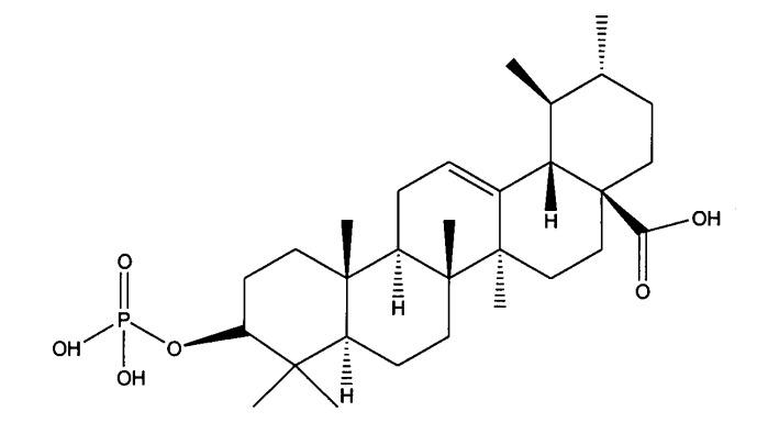 Новое производное кислоты тритерпенового ряда и содержащий его препарат для наружного применения для кожи