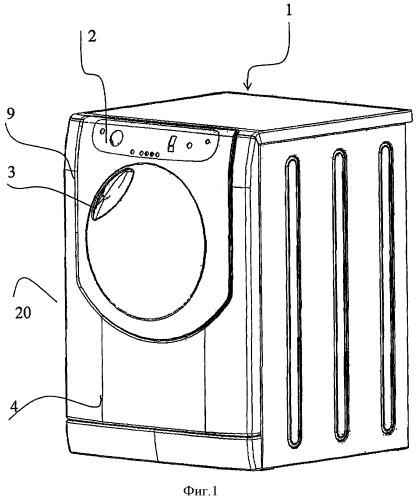 Дверца бытового электроприбора, в частности стиральной, стиральной/сушильной или сушильной машины для одежды с фронтальной или в основном с фронтальной загрузкой