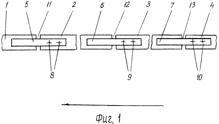 Рельсовая колея и способ ее эксплуатации