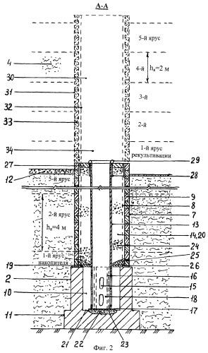 Способ увеличения высоты водосбросного колодца стоечно-шандорного типа накопителя промышленных отходов