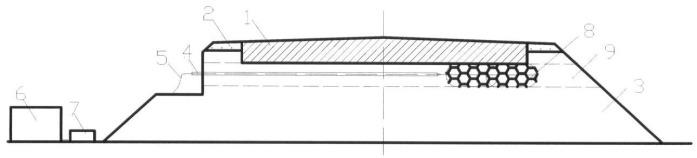 Способ ликвидации пучинообразования дорожной конструкции управляемым защелачиванием грунта