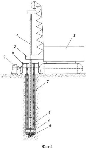 Устройство для бурения скважин некруглого сечения