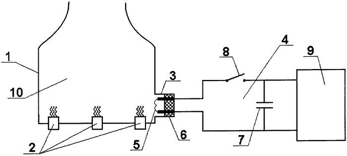 Способ создания импульсов давления в акустических полостях камер сгорания и газогенераторов жидкостных ракетных двигателей