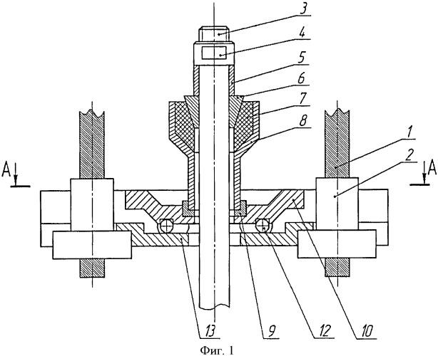 Канатная подвеска станка-качалки штанговой насосной установки