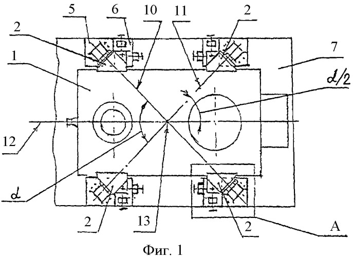 Корпус компрессора на опорной раме