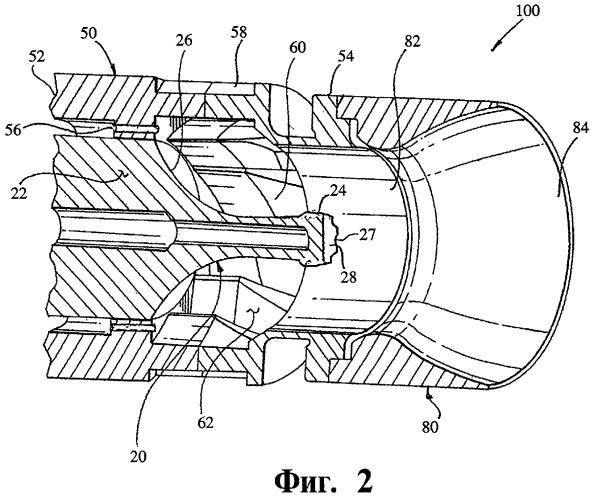Горелка для камеры сгорания газовой турбины (варианты)