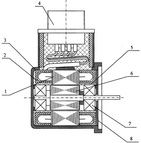 Малогабаритный датчик угловых перемещений повышенной точности