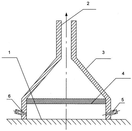 Способ определения поверхностного загрязнения и устройство для отбора проб с загрязненной поверхности