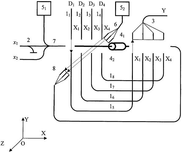 Оптическое логическое наноустройство