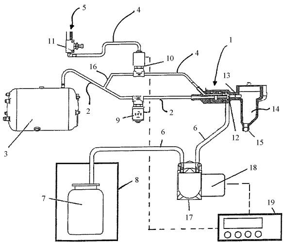 Автоматический аппарат для нагревания и вспенивания молока