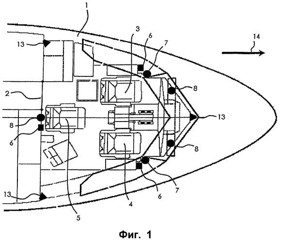 Способ и устройство идентификации личности на борту летательного аппарата