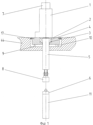 Устройство перегрузки блоков с отработавшими тепловыделяющими сборками