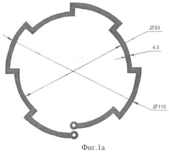 Антенна для радиочастотной идентификации (варианты)