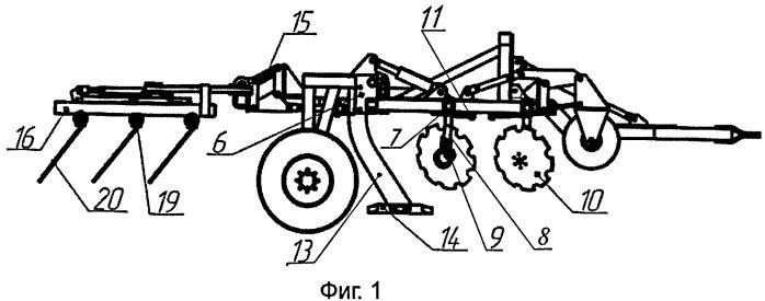 Многофункциональное комбинированное почвообрабатывающее орудие