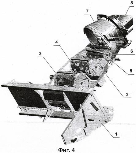 Подающий механизм роторного комбайна