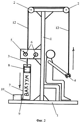 Вакуумный силовой тренажер
