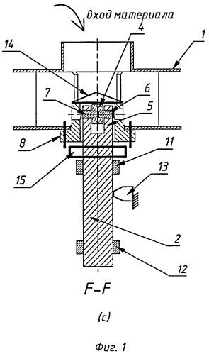 Роторный механизм для центробежной установки