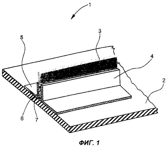 Способ изготовления армированной оболочки для компонентов воздушного судна и оболочка для таких компонентов