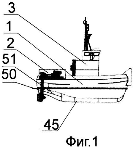 Комплекс для перевозки грузов судами и способ формирования из комплекса флота на заданный маршрут грузоперевозки