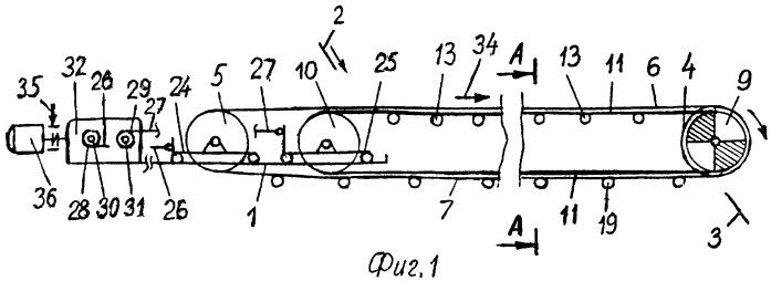 Ленточно-канатный конвейер