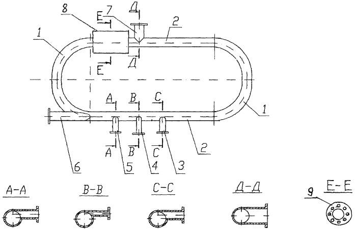 Устройство для получения углеродного материала с наноструктурированным углеродом с использованием взрыва
