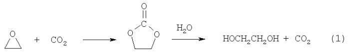 Способ получения этиленгликоля совместно с карбамидом
