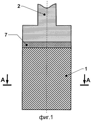 Инертный анод электролизера для производства алюминия