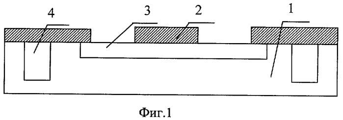 Способ изготовления самомасштабированной самосовмещенной транзисторной структуры