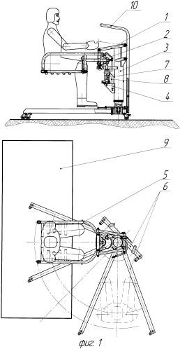 Подъемник передвижной для перемещения инвалидов