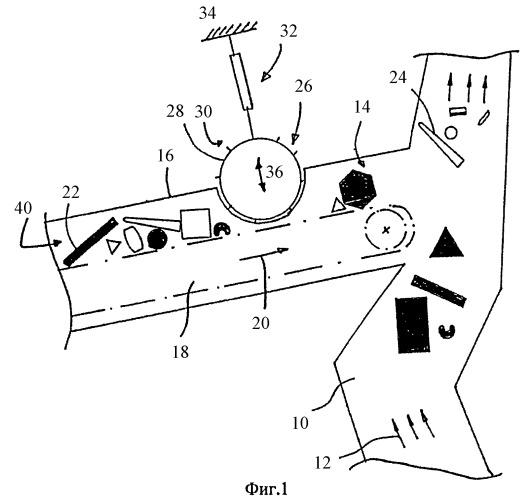 Воздушно-проходной сепаратор