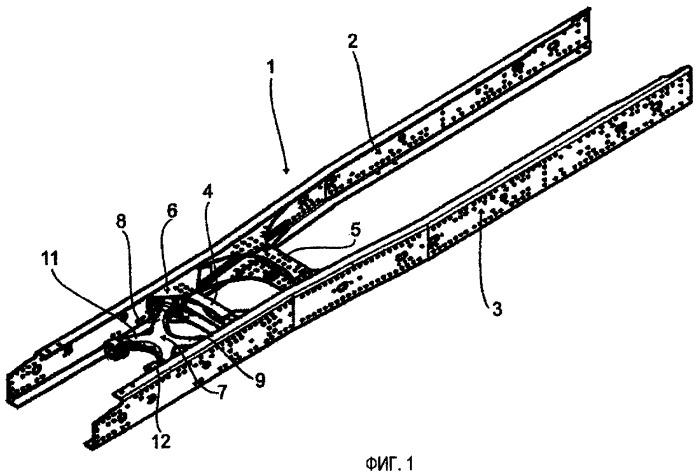Многоточечное рычажное устройство для рамы грузового транспортного средства, а также опорный кронштейн и траверса для многоточечного рычажного устройства