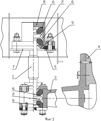 Подвеска редуктора привода подвагонного генератора (варианты)