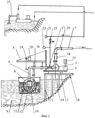 Устройство для разгрузки песчано-гравийной смеси