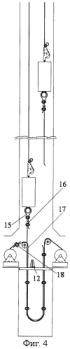 Способ навески и смены уравновешивающих канатов подъемных установок