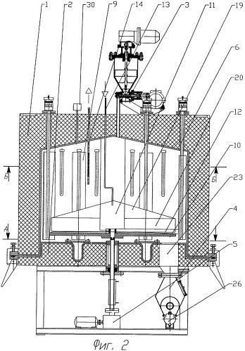 Способ получения наноструктурированных углеродных волокон и устройство для его осуществления