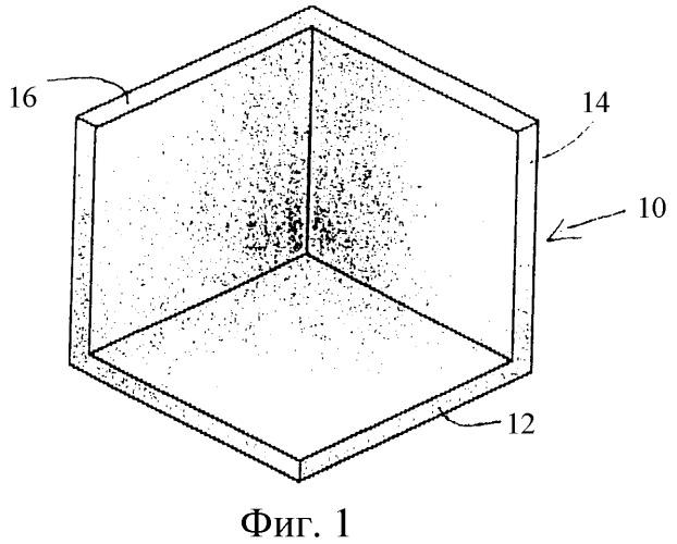 Угловой фитинг и способ образования углового фитинга с использованием переноса волокон