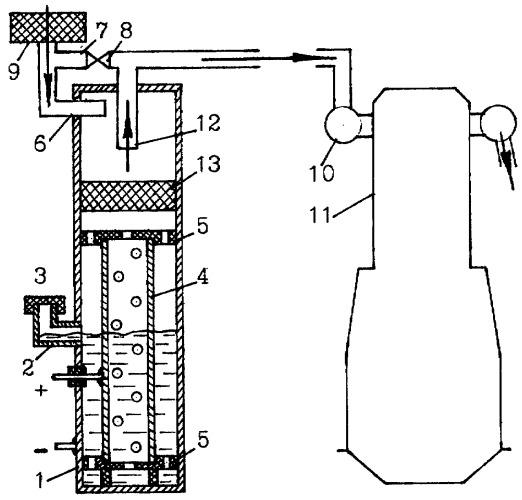 Обогатитель топливовоздушной смеси двигателя внутреннего сгорания