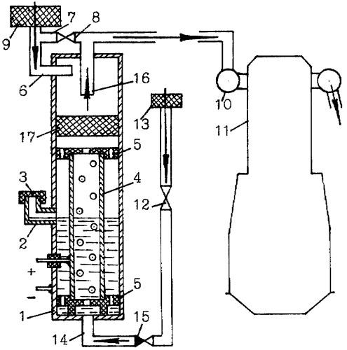 Устройство для обогащения топливовоздушной смеси двс