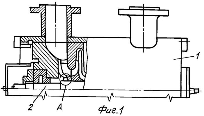 Лабиринтное уплотнение корпуса компрессора