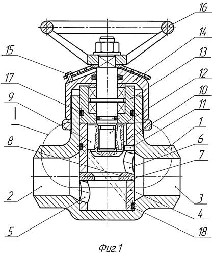 Биоболочковый корпус для трубопроводной арматуры