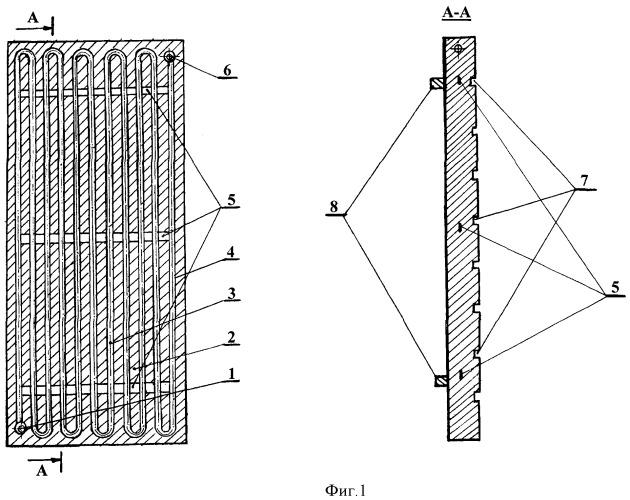 Кессон пирометаллургического агрегата барботажного типа