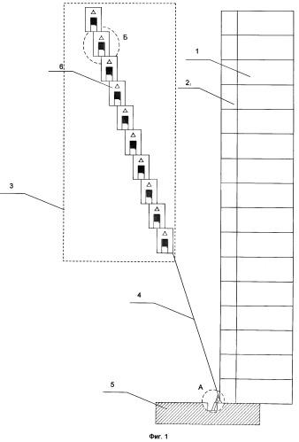 Способ спасения людей из высотных зданий и устройство для его осуществления