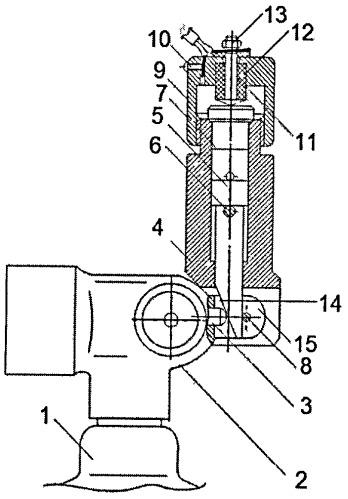 Запорно-пусковое устройство с электропуском