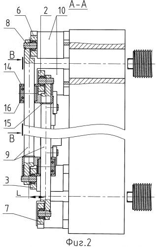 Замковое устройство механизма запирания полуформ литьевой машины, например термопластавтомата