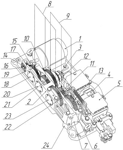 Устройство стрелочного привода