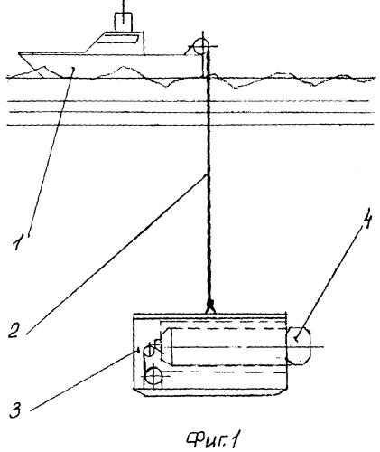 Подводная буксируемая поисковая система