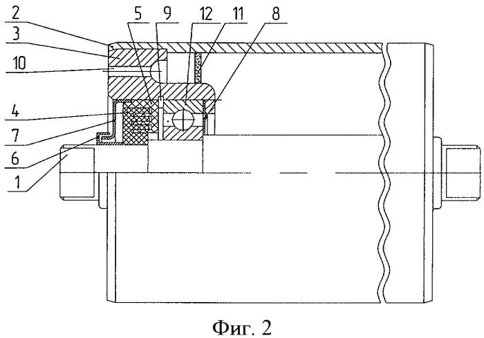 Ролик конвейерный с воздушным фильтром